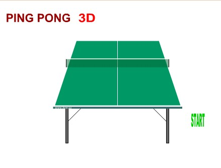 Настольный теннис 3D (Table Tennis 3D)