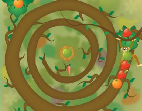 Вращение фруктов (Fruit Twirls)