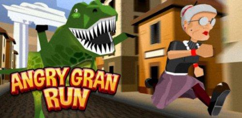 Прохождение игры Angry Gran Run