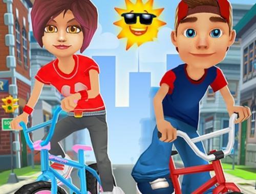 Взрывные велотрюки (Bike Blast)