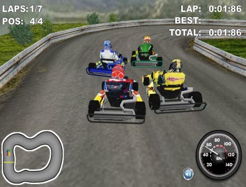 Игра Чемпионат по картингу (Go Karts HD)