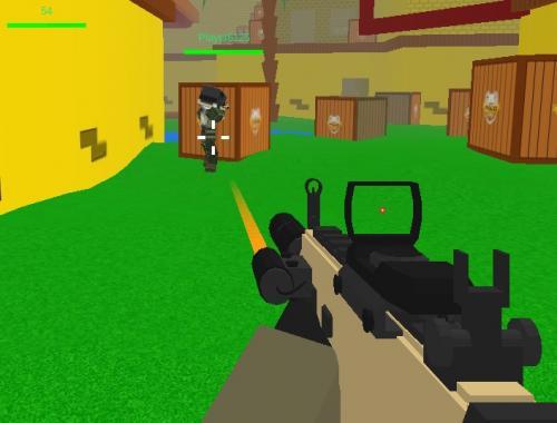 Блочный спецназ (Blocky Combat Swat 3)