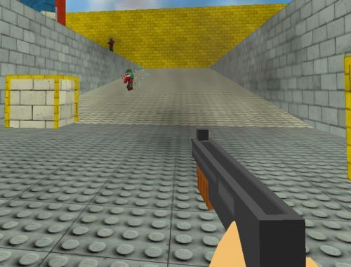 Пиксельные пули (Fast Pixel Bullet)