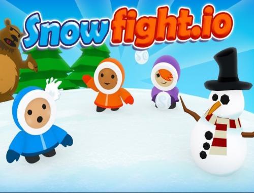 Игра в снежки (Snowfight)