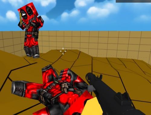 Битва мультяшек (Pixel Toonfare 3D)