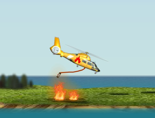 Пожарный вертолет (Fire Helicopter)