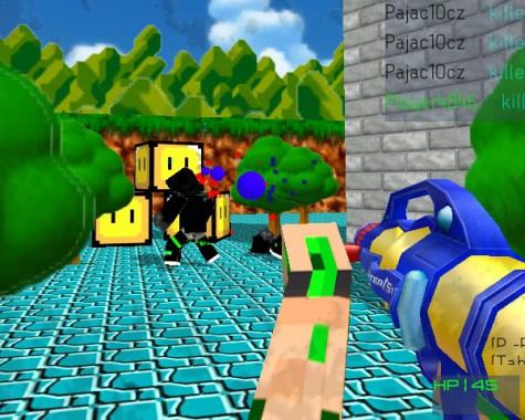 ���������� �������� (Paintball Fun 3D Pixel)