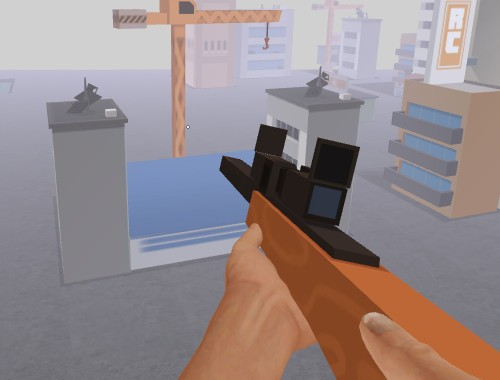 Снайпер против зомби (Zombie Town: Sniper)