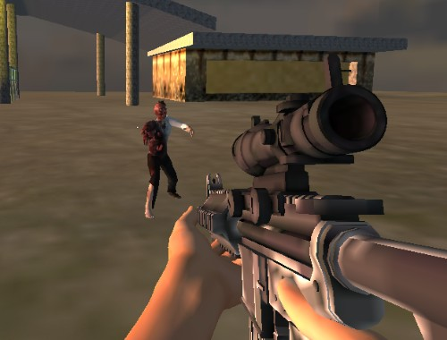 Зомби снайпер (Zombies Sniper)