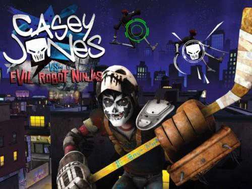 ����� ����� ������ ������ (Casey Jones vs Evil Robot Ninjas)