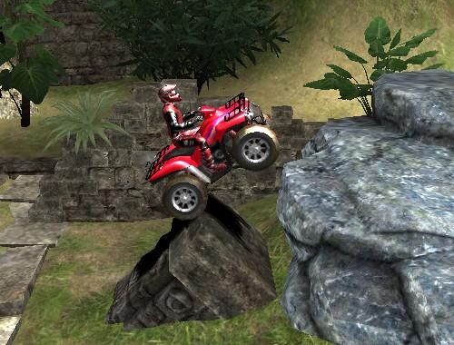 Езда на квадроцикле (Temple ATV)