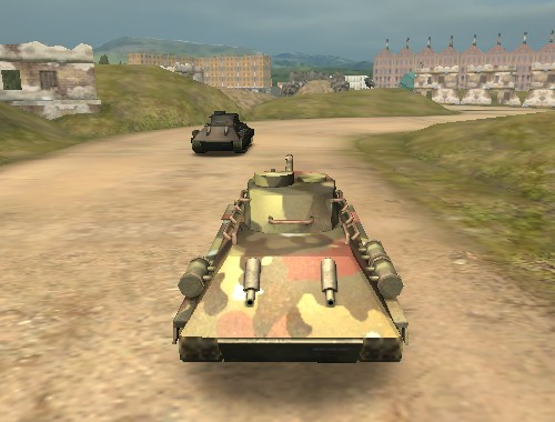 Танковая гонка (Warrior Tank 3D Racing)